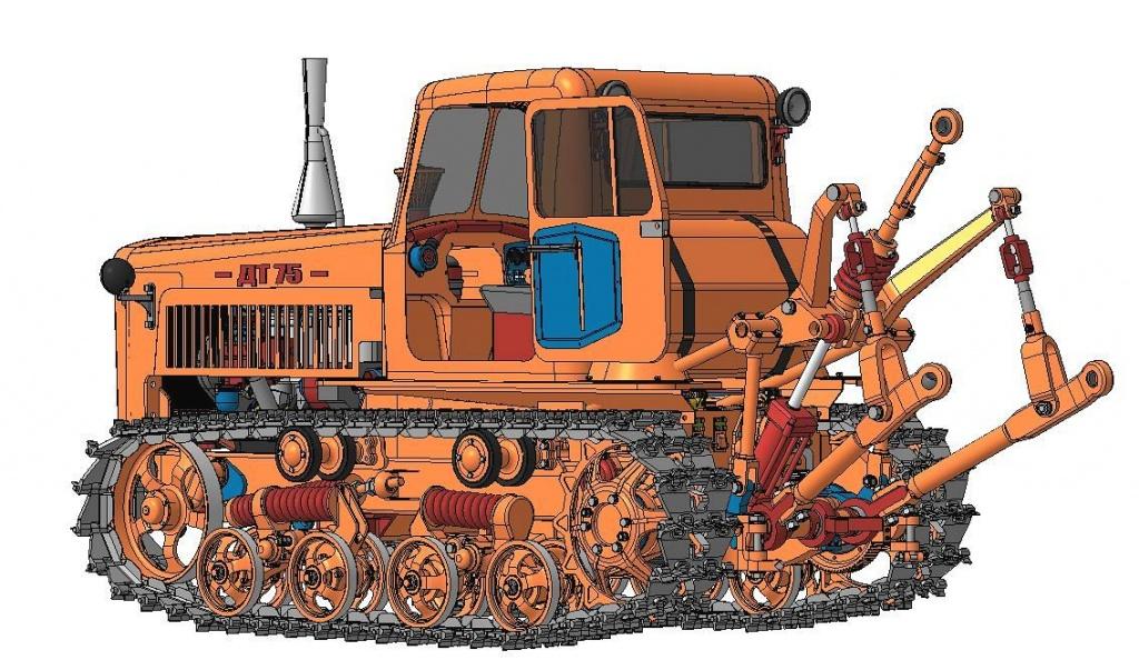 устройство ДТ-75